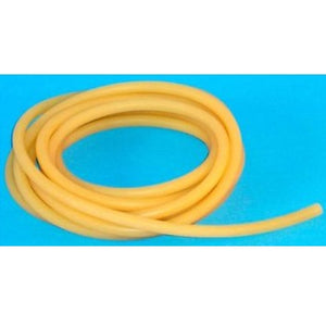 Heavy Walled Amber Rubber Tubing