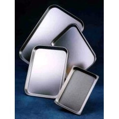 Shallow Stainless Steel Instrument Tray