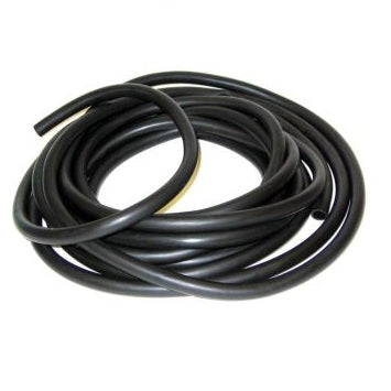 3.65m Black Latex Rubber Tubing -12mm Diameter