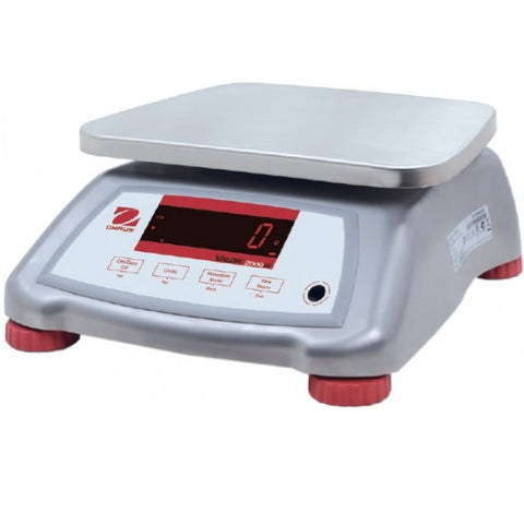 Ohaus V22XWE15T - 15000g x 2g Washdown Food Scale