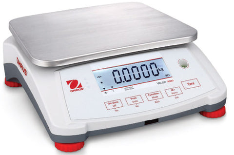 Ohaus V71P3T Valor 7000 Compact Bench Scale-6 lb / 3 kg Capacity Legal for Trade Canada  AM-5907C