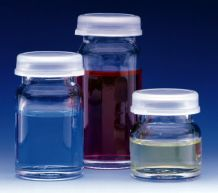 4ml Capacity Vials with Polyethylene Snap Cap, 144 Vials