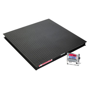 Ohaus VX Series - 4500 kg x 1 kg  Washdown Floor Scale