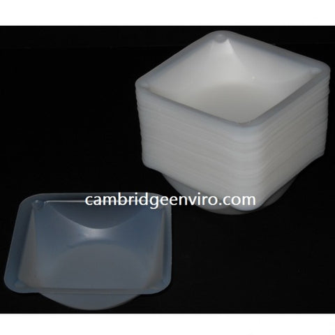 100ml Capacity, Medium Weigh Dish, 100 Dishes