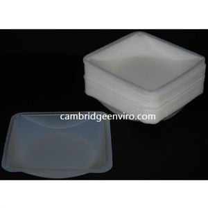 Polystryene Weigh Dishes - 100 Dishes