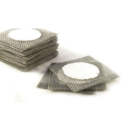 "Laboratory Wire Gauze with Ceramic Center - 4 x 4"" Square"