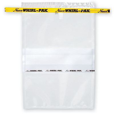 710ml Capacity, 150 x 230mm, Sterile Whirl-Pak Write-On Bags, 10 Bags