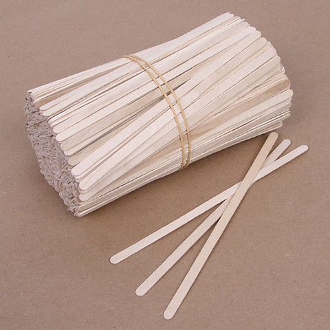 114 x 6.3mm Non-Sterile Thin Wood Applicators - 500