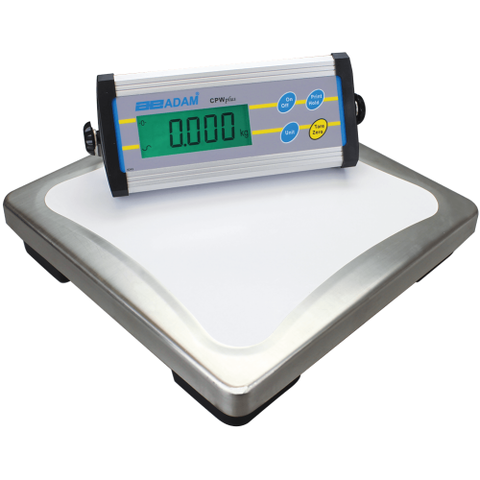 Adam Equipment CPWplus 150  330lb/150kg x 0.1lb/0.05kg Bench Scale  1yr Warranty