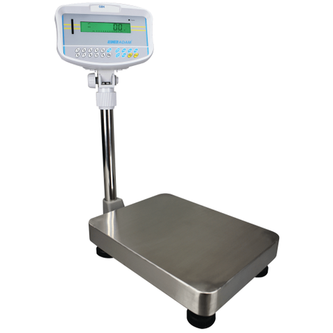 Adam Equipment GBK 300aM  300lb/150kg x 0.05lb/ 0.02kg Checkweighing Balance - Legal for Trade 2yr Warranty