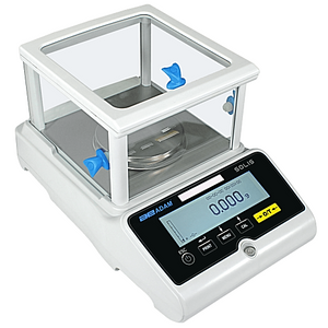 Adam Equipment SPB 2103i Precision lab balance with square breeze break and backlit touch screen