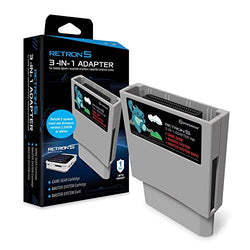 Hyperkin RetroN 5 3-in-1 Adapter for Game Gear, Master System Card - Sega Gear