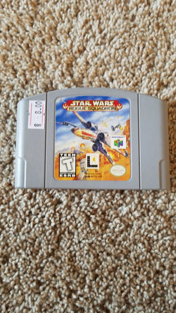 Star Wars Rougue Squaudron -N64