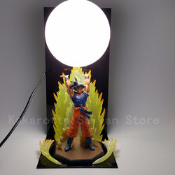 Dragon Ball Z Action Figures Toys Son Goku Genki damaSpirit Bomb DIY Anime Dragonball Esferas Del Dragon+Ball+Base