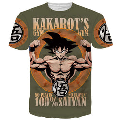 Classic Anime Dragon Ball Z Super Saiyan T shirts - Import