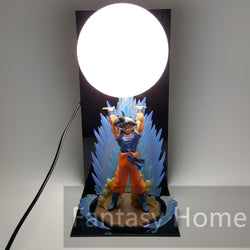 Dragon Ball Z Figure Spirit Bomb Lamp - Import