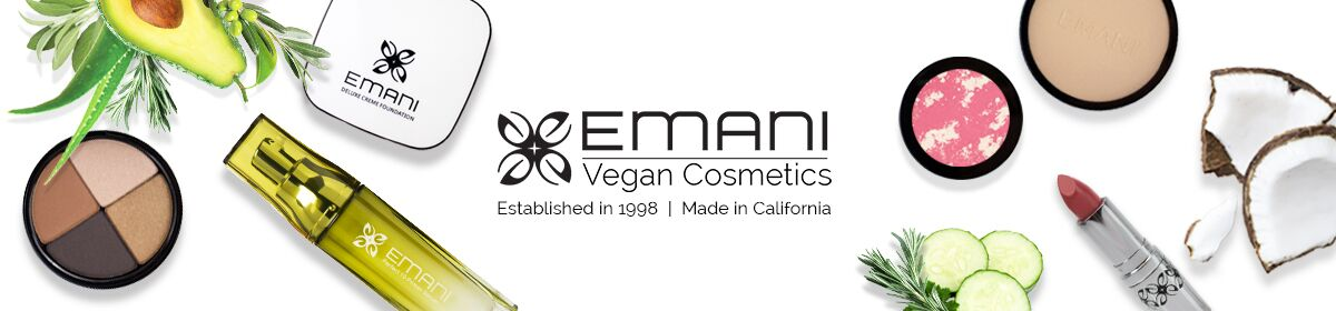 Emani Vegan Cosmetics Create Account page