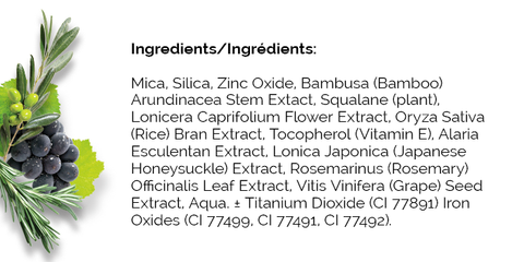 HD bamboo ingredients