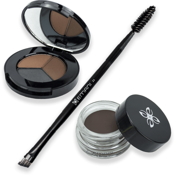 403 Trio Brow + 412 Pomade + Brush