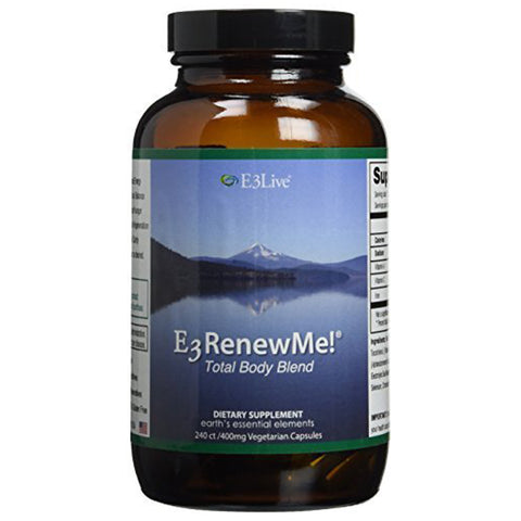 E3 Renew Me! Total Body Blend 240ct (400 mg); 1 bottle by E3Live
