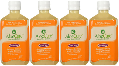 AloeCure Grape - 4 bottle pack
