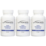 Procerin Tablets - Male Hair Growth Supplement -3 Month Supply (3 bottles - 90 tablets each)