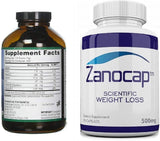 E3Live AFA Powder, 4 Bottles of 460 Gram with Zanocap Scientific Weight Loss