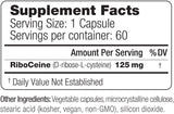 Max One, Focused Riboceine Supplementation, 60 Vegetable Capsules, 60 Servings