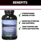 E3Live Renew Me! Total Body Blend Dietary Supplement 354 Gram Powder - Promote Mental Awareness and Boost Immune System