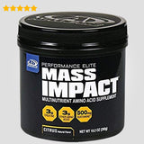 Mass Impact Amino Acid Creatine Mix for Bigger Muscle Mass, 20 Servings, Citrus