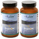 E3Live BrainON - 2 Bottles (400mg); 240 ct each