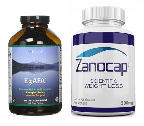 E3Live AFA Powder, 460 Gram With Zanocap Scientific Weight Loss