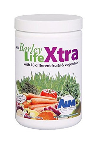 AIM BarleyLife Xtra 12.7oz Antioxidants Powder Support Whole Body