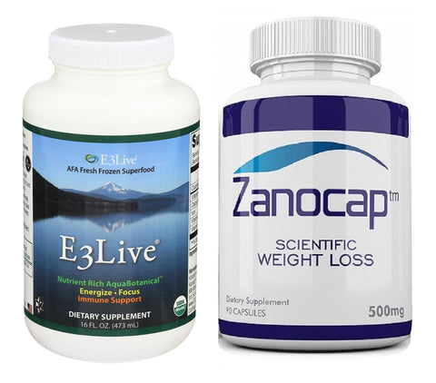 E3live Original Frozen Algae Superfood Dietary Supplement with Zanocap 1 Bottle