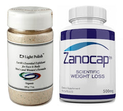E3 Light Polish Exfoliant 200g (7 oz) W/ Zanocap Scientific Weight Loss 1 Bottle