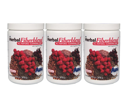 AIM Herbal Fiberblend Raspberry Powder 13 oz. 3-pack