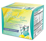 FiveLac Natural Probiotics Candida Solution with Acidophilus (60 Servings)