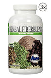 AIM Herbal Fiberblend Dietary Fiber Supplement 208 Capsules