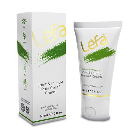 Lefa Live Life Joint and Muscle Pain Relief Cream 60ml