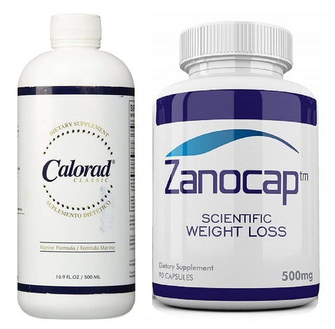 Nutri-Diem Calorad Classic Marine 16.9oz With Zanocap Weight Loss 1 Bottle
