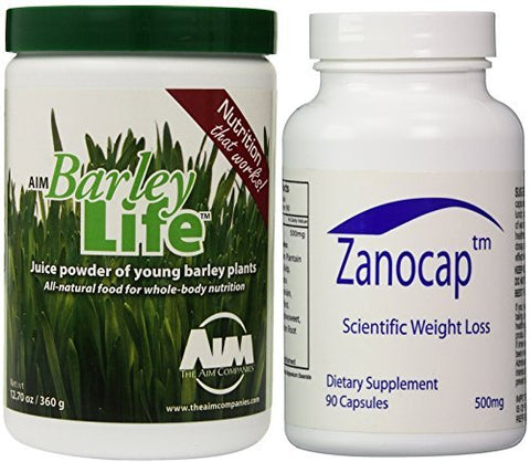 AIM BarleyLife - Family Size (12.7oz) and Diet Pill Combo