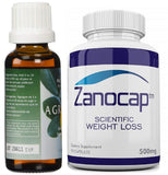 Agrisept L Antioxidant 30 ml 4 Bottle w/ Zanocap Scientific Weight Loss 1 Bottle