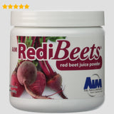 AIM Redi Beets (8.8 oz) beet juice supplementation for cleansing the liver and reducing homocysteine levels