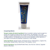 Vazogel Male & Female Enhancement Gel  - 1 Tube (4oz)