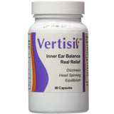 Eradicate Vertigo With Vertisil Natural Inner Ear Balance 1 Bottle (60 Capsules)