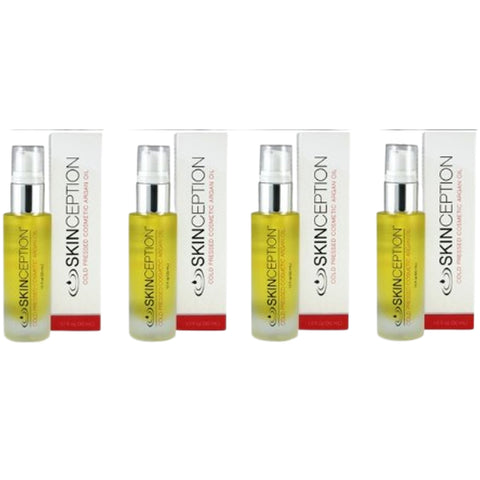 Skinception Cold Pressed Argan Oil (4-Pack)