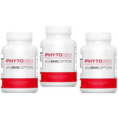Skinception Phyto350 Advanced Phytoceramides Formula (30 Ct each Bottle) - 3 Month Supply