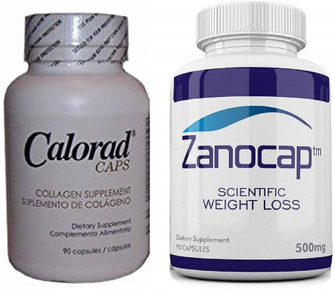Calorad Caps Michel Grise Nutri-Diem w/ Zanocap Scientific Weight Loss 1 Bottle
