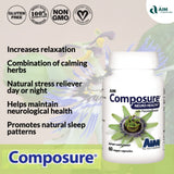 AIM Composure for stress reduction and relaxation
