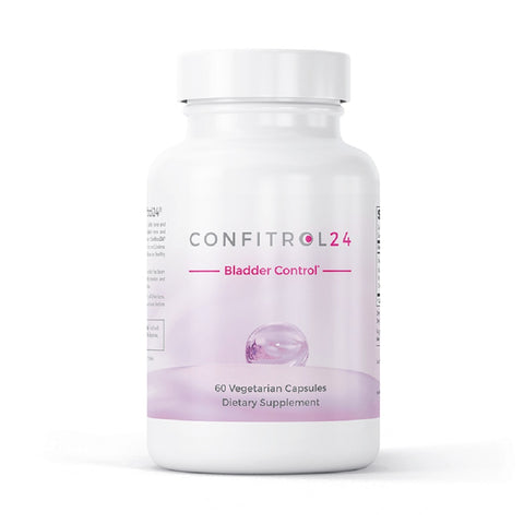 Confitrol24 Bladder Control Dietary Supplement Reduces Bladder Leakage (60 Capsules)